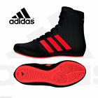 Adidas Kids Childs KO Legend 16.2 Boxing Boots Shoes Boxer Fighter Black, Red