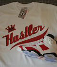 T shirt  MADE TO MATCH  jordan 6 or OG Carmine Red TRUE COLOR Hustler NWT BTN