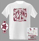 Change The Game Peace New Maroon Tshirt great match with Air Jordan shoe Retro 6