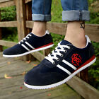 Hot Men's Breathable Sneaker Sport Running Casual Canvas Flats New Fashion Shoes
