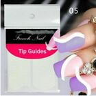 Nail Art Sticker French Tip Manicure Guides Stickers Collection 17 Styles