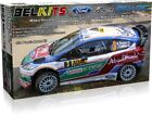 NEW! BELKITS 1/24 SCALE RALLY WRC CAR PLASTIC MODEL KITS - PHOTO ETCHED PARTS! <br/> PEUGEOT 207 - SKODA FABIA -FIESTA S2000 - VW POLO