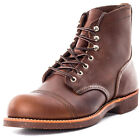 Red Wing 6-inch Iron Ranger Mens Boots Amber New Shoes