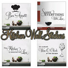 kitchen wall stickers 4 designs to choose from wall art 4 sizes transfare