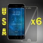6x Clear Screen Protector For Apple iPhone 6 / 6S Cover Guard Shield Film 4.7""