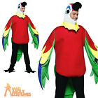 Adult Light Weight Parrot Costume Unisex Tropical Bird Fancy Dress Outfit New