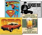 Large Tin Signs-16x12.5-Two for $19.45-Free Shipping