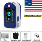 FDA Contec Finger Pulse Oximeter Blood Oxygen SpO2 Monitor OLED CMS50D-USA Stock