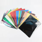 "50Pcs A4 8""x12"" Gold Multi-Color Transfer Foil Paper Laser Printer Hot Laminator"