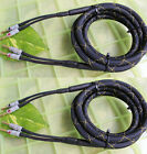 Pair BK Audiophile Hi-end Nakamichi Banana AMP Speaker Cable 12AWG 10AWG Gauge
