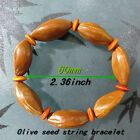 Natural plant seed nuts strung The human body without harm bracelet optional