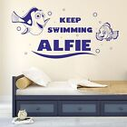 Finding Dory & Nemo Kids Personalised Any Name Wall Art Mural Decal Sticker