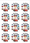 Disney's Cars Personalized Edible Print Cake Topper Frosting Sheets 5 Sizes