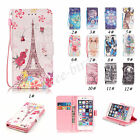 Flip Cute Leather Wallet Cases Card Holder Stand Phone Cover For iPhone 5 5s 6s