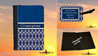PASSPORT COVER AND LUGGAGE TAG SET - GOLF DESIGN - GIFT WIFE HUSBAND MUM DAD