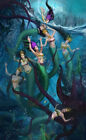 Home Decor HD Prints oil painting art on canvas for living room Mermaid mry85