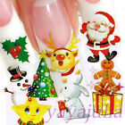 11 sheets in 1 Wholesale Nail Art Water Slide Transfer Sticker Decal Color W2650