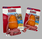 Kong Aqua Toy Dogs Rope Floats Large Water Floating Fetch Training Puppy Toy