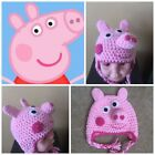 Peppa Pig Beanie Hat Girls Outerwear Winter Warm Kids Child Cold Weather