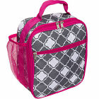 Silver Lilly Women's Fashion Insulated Cooler Lunch Box Tote Bag