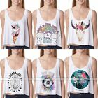 Women's Fashion Summer Vest Top Sleeveless Shirt Blouse Casual Tank Tops T-Shirt
