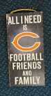 NFL Choose your own Team All I Need is Football Family Friends Wooden Sign 6X12 on eBay