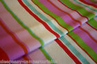 CUSTOM MADE - VW Camper Van Curtains - ISSUE STRIPES - TROPICAL