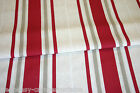 CUSTOM MADE - VW Camper Van Curtains - METRO STRIPES - RUBY