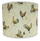 Chicken Designs Lampshades, Ideal To Match Vintage Retro Chicken Cushion Covers