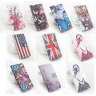 "Fancy Printing Painting Wallet PU Leather Case For 5.7"" Asus Zenfone 3 ZS570KL"