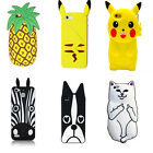 Cute Case for iPhone 6 Plus/ 6s Plus Cartoon Silicone Back Cover Case