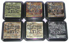 Lot 12- Series 1  2  3  4  5 + Picket Fence Distress Ink Pads Ranger - Full Size