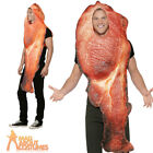 Adult Bacon Rasher Costume Unisex Funny Food and Drink Stag Fancy Dress Outfit