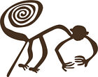 "Monkey Nazca Line Decal BIG 6"" Peruvian Geoglyph Machu Picchu Sticker FREE S&H!"