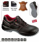 Men S3 SRC Safety Trainers Shoes Boots Work COMPOSITE TOE CAP Real Leather New