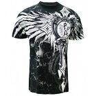 Cross Wing Men's MMA Muscle T-shirt J1T726BK
