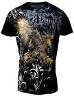 Konflic MMA Men's Wing Cotton All Over Muscle T-Shirt 552-BK
