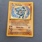 Original Pok'emon Cards Rare Machamp First Edition + Free trainer & Machoke