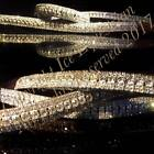 """Bling Equestrian 5 Row Crystal U Shaped Dressage ICE Browband. Sizes 13""""-17"""""""