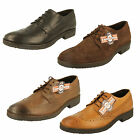 Mens Lambretta Brogue Shoes - M-82