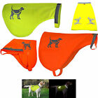 Bright Orange or Yellow High Visibility Dog Safety Vests for Protecting Pets