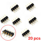 LED Strip Light Solderless Connector Clip Adapter Cable RGB 3528 5050 5630 RGB