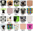 Lampshades Ideal To Match Pug Dog Wallpaper Border & Pug Dogs Wall Art & Duvets