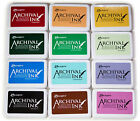 Ranger Archival Dye Ink Pads - Full Size - Permanent - Three Sets to Choose From