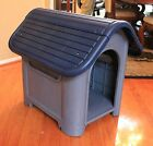 Indoor Outdoor Dog House Small to Medium Pet Doghouse Puppy Shelter 2-Colors