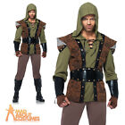 Adult Robin Hood Costume Mens Prince of Thieves Fancy Dress New by Leg Avenue