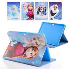 "Frozen Cartoon Leather Kid Stand Case Cover For Samsung Galaxy Tab 4 7"" 8"" 10.1"""