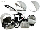 Baby Pram Newborn Buggy 3 in 1 Car Seat Carrycot Combi Travel System Pushchair <br/> FREE DELIVERY &amp; RETURNS, FREEBIES