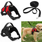 dog harnesses for pulling - No Pull Adjustable Dog Vest Harness Leash Collar Set  for Small/Medium/Large/XL