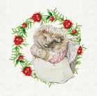 Mrs Tiggy-Winkle and flowers Craft Panel / Qulting, sewing, craft. Peter Rabbit